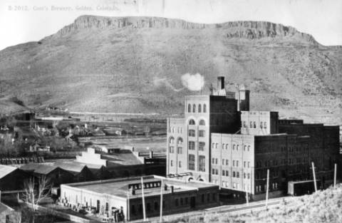 Coors Brewery circa 1909(Credit: Denver Public Library)