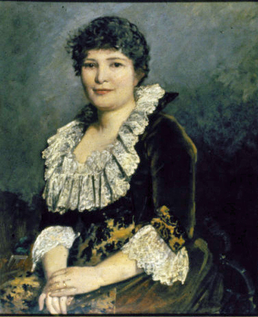 oil painting of Mary Elitch