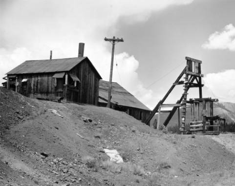 The Matchless mine in Leadville(credit: Denver Public Library)