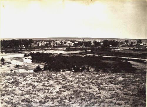 Pueblo and the Arkansas River circa 1860-1880(Credit: Denver Public Library)