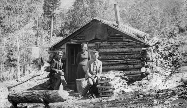 Susan Anderson in Cripple Creek(credit: Denver Public Library)
