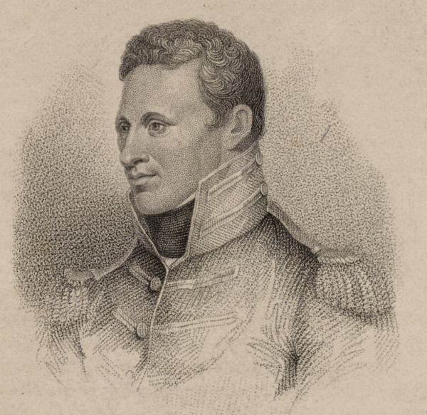 engraved portrait of Zebulon Pike