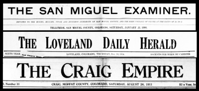 Increased Content for Colorado Historic Newspapers Collection