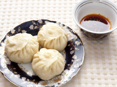 Book talk and dumplings