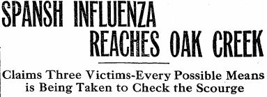 Topics in History: 1918 1919 Influenza Pandemic in Colorado