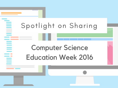 Computer Science Education Week 2016
