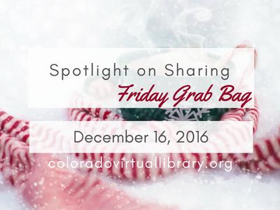 Friday Grab Bag 12.16.16