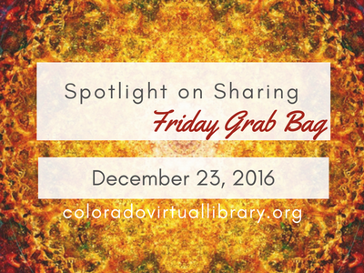 Spotlight on Sharing: Friday Grab Bag, December 23, 2016