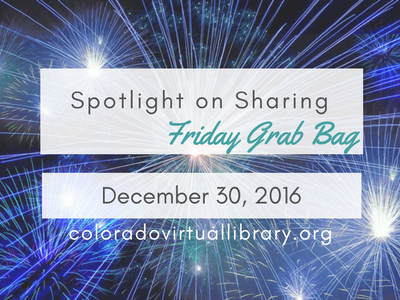 Spotlight on Sharing: Friday Grab Bag, December 30, 2016