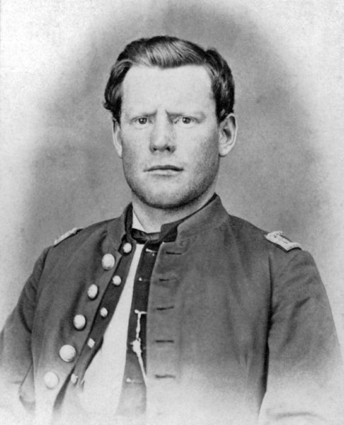 Silas Soule in uniform