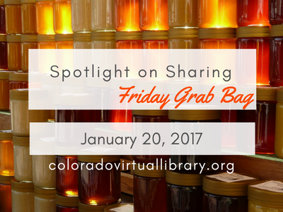 Spotlight on Sharing: Friday Grab Bag, January 20, 2017