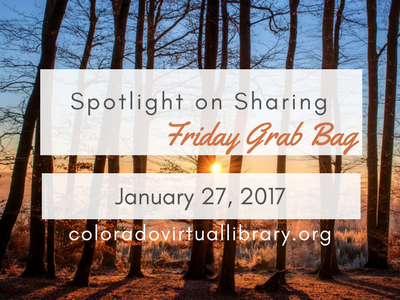 Spotlight on Sharing: Friday Grab Bag, January 27, 2017