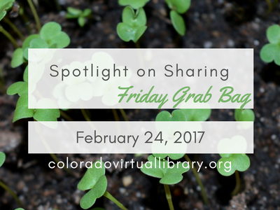 Spotlight on Sharing: Friday Grab Bag, February 24, 2017