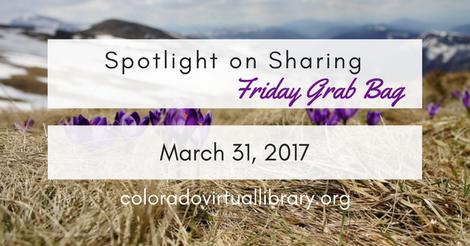 Friday Grab Bag March 31 2017