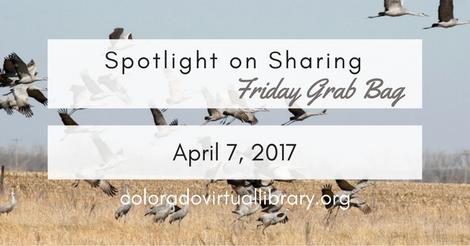Friday Grab Bag April 7, 2017