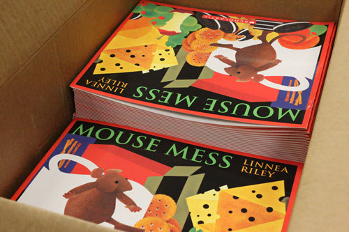 Mouse Mess English