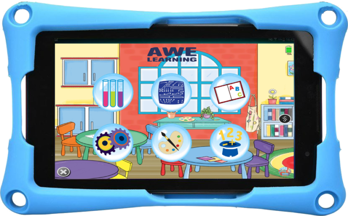 LiteracyGo the New Tablet from AWE Learning