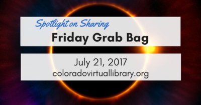 Friday Grab Bag, July 21, 2017