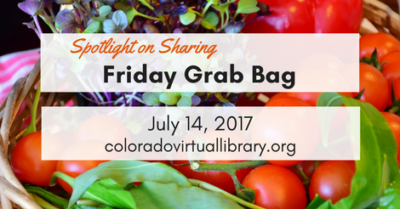 Friday Grab Bag, July 14, 2017