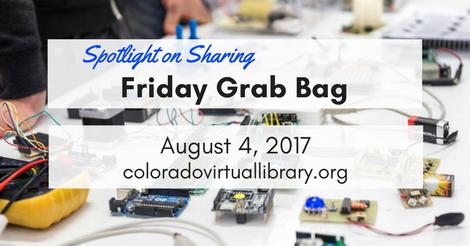 Friday Grab Bag August 4, 2017