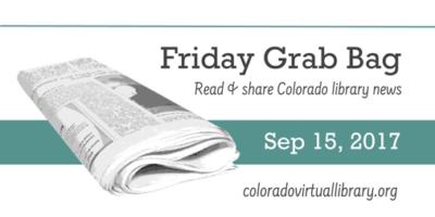 Friday Grab Bag, September 15, 2017