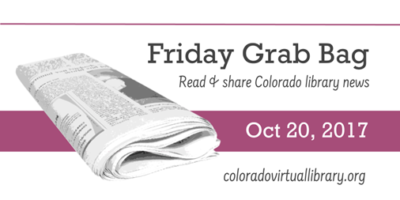 Friday Grab Bag, October 20, 2017