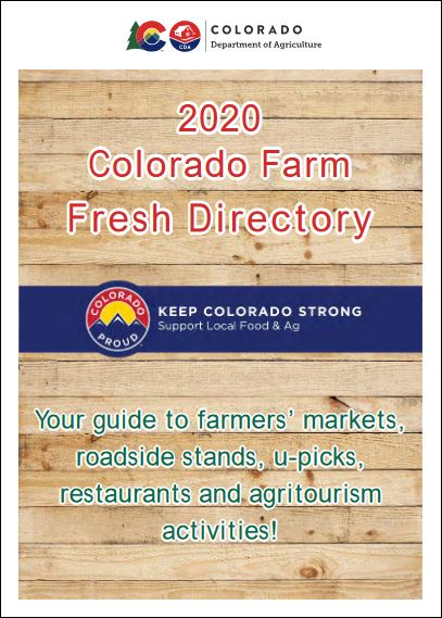 Colorado Farm Fresh Directory cover image
