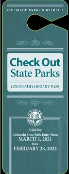 Check Out State Parks 2021-2022 Hang Tag