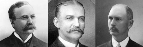 Colorado Governors Alva Adams, James Peabody, Jesse McDonald