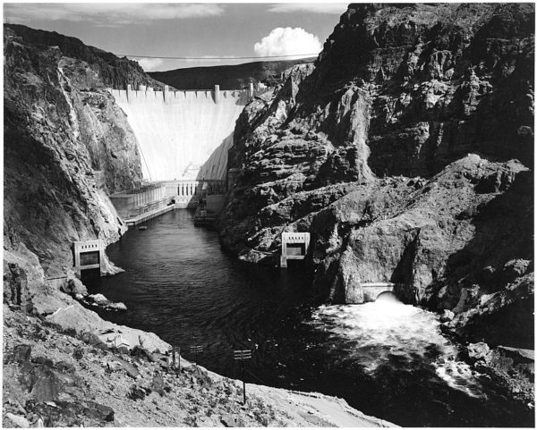 Ansel Adams Boulder Dam (Hoover Dam), National Archives