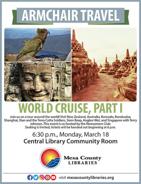 Armchair Travel World Cruise, Part I