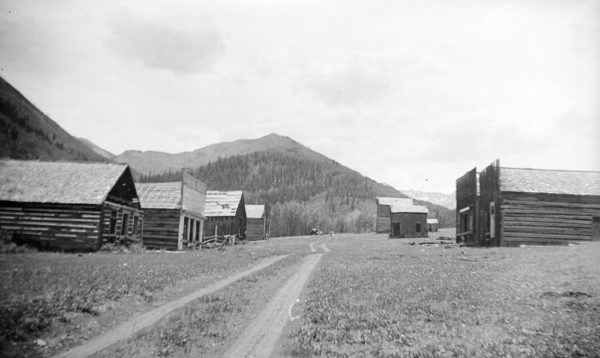 Ashcroft ghost town in 1935