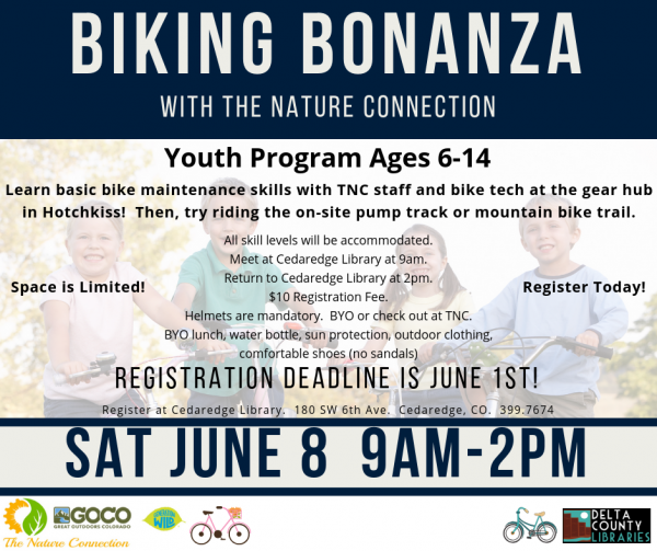 Biking Bonanza with the Nature Connection