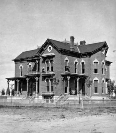William N. Byers House, Colfax and Sherman Denver