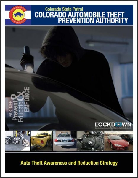 Auto Theft Prevention >> Auto Theft Prevention Resources Colorado Virtual Library