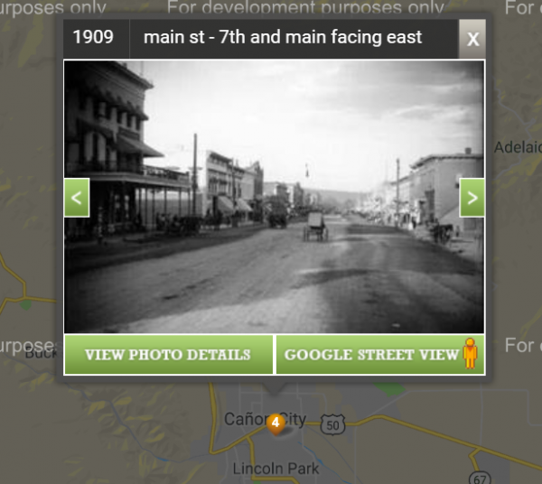 picture of Canon City via the app