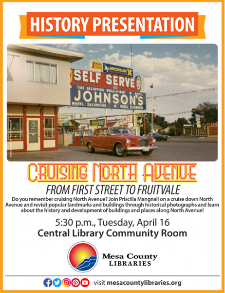 History Presentation: Cruising North Avenue at Mesa County Libraries