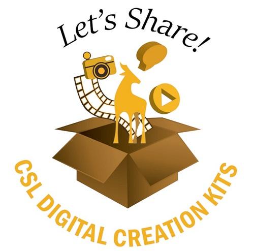 Let's Share! CSL Digital Creation Kit Logo