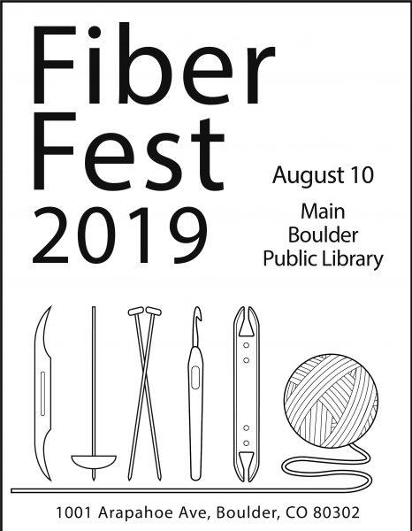 Fiber Fest 2019; August 10