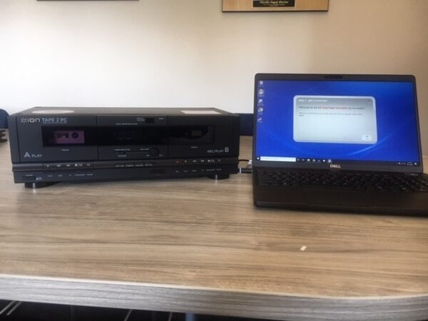 Tape 2 PC and laptop for audio conversion