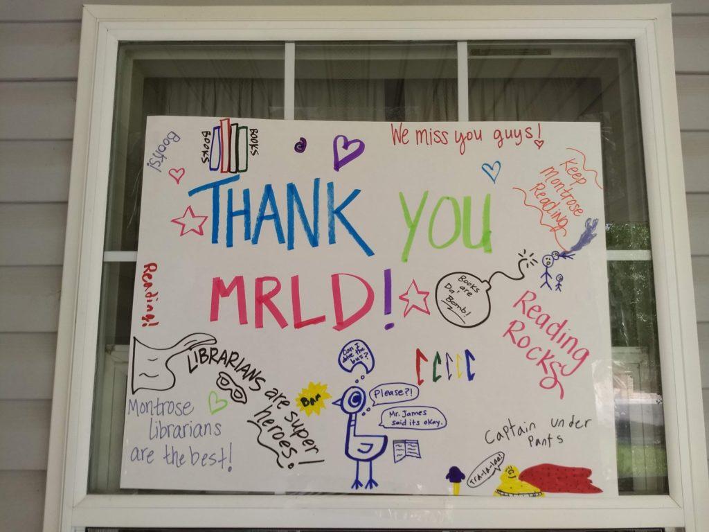 Thank You MRLD!
