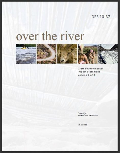Over the River Draft Environmental Impact Statement cover image