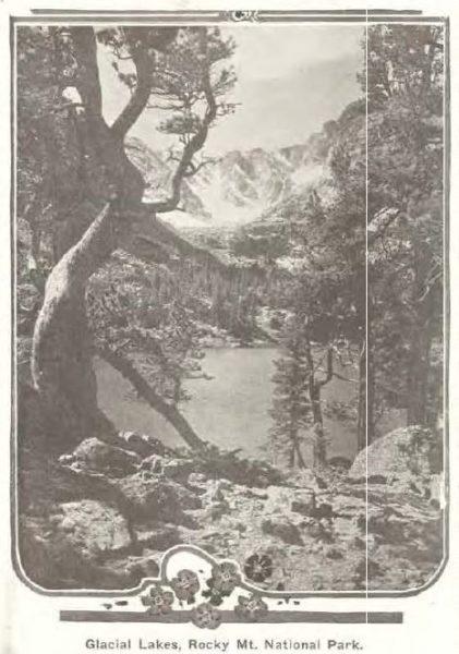 Glacial Lakes, Rocky Mountain National Park