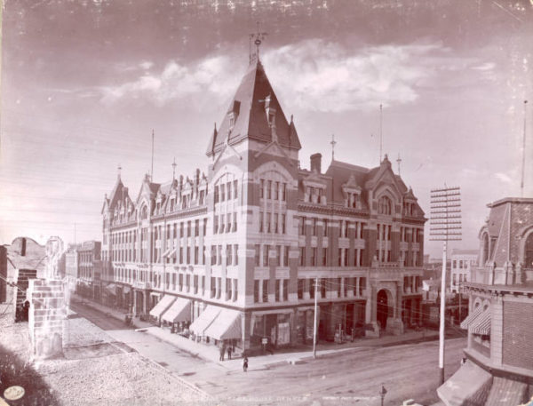 Historic photo of Tabor Grand Opera House