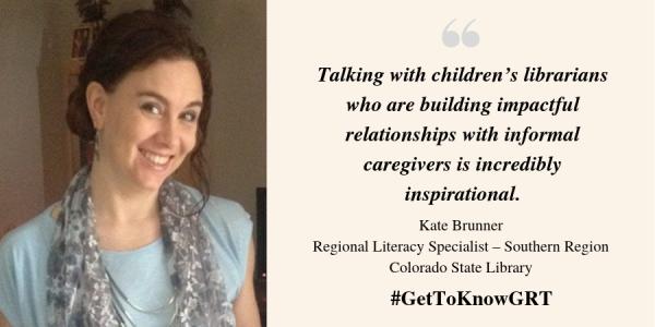 Kate Brunner, Regional Literacy Specialist - Southern Region