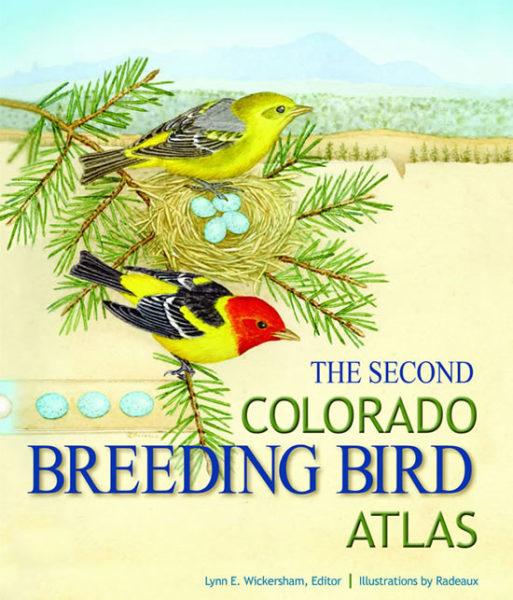 The Second Colorado Breeding Bird Atlas book cover image