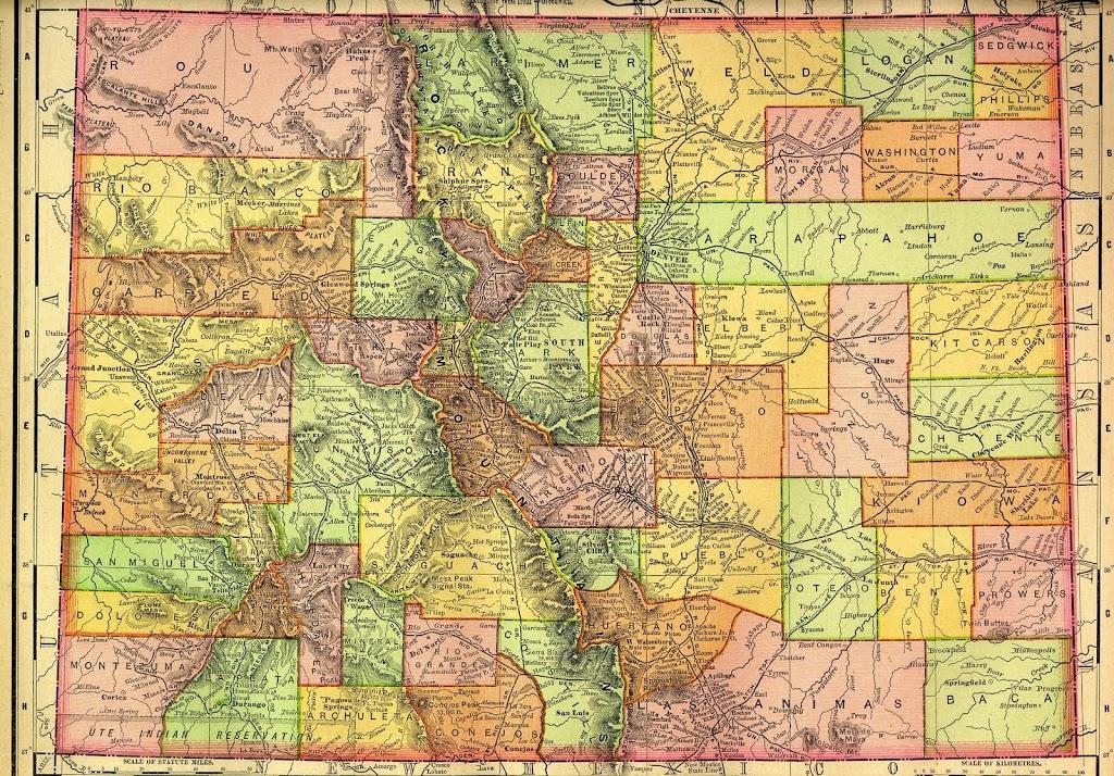 Historical Maps – Colorado Virtual Library