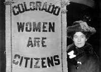 Image result for images women's suffrage 1877 colorado