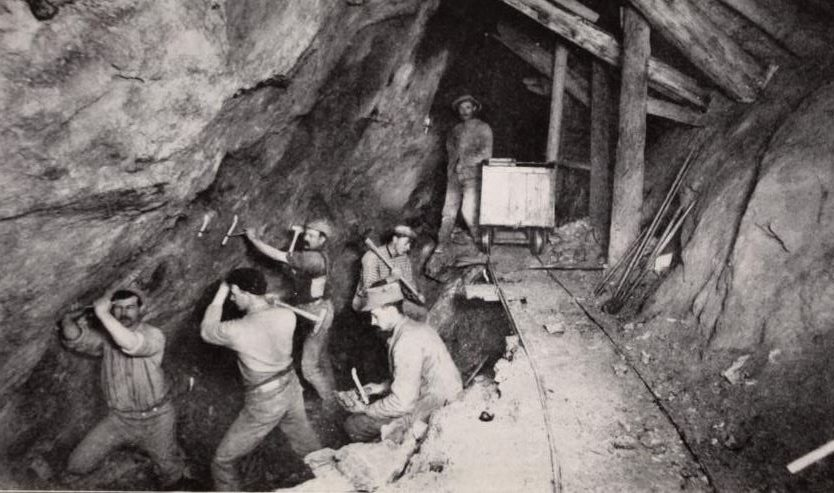 miner workers Seaton Mine Idaho Springs Colorado